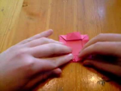 Origami photo frame