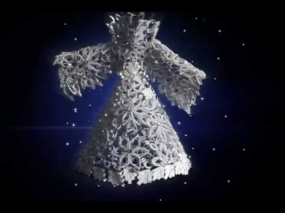 Origami Snow Queen Dress