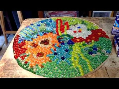 Our Quiet Corner - DIY - Mosaic Table Top - Theresa Snyder