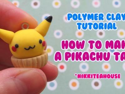 Polymer Clay Tutorial ~ PIKACHU TART!