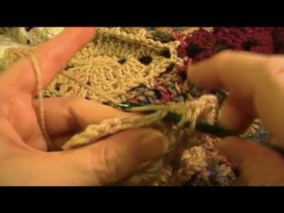 Prairie Star Afghan outer Color C Part 4