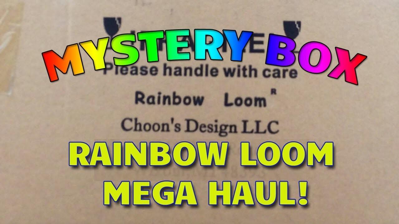 Rainbow Loom Mystery Box - Mega Haul!