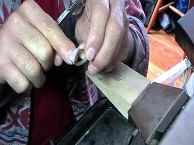 Rivited bead ring pt 1