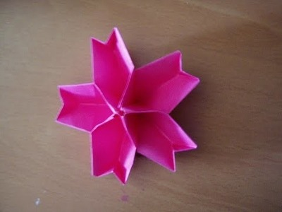 Simple origami flower   How to make simple origami flower   very easy