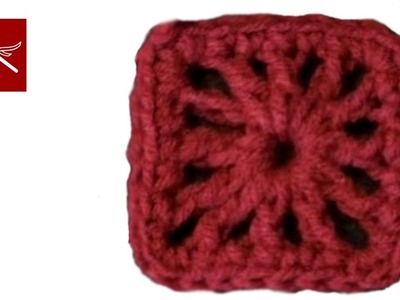 Small Double Crochet Square Crochet Geek
