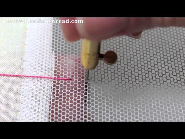 Tambour Embroidery - Basic Stitch