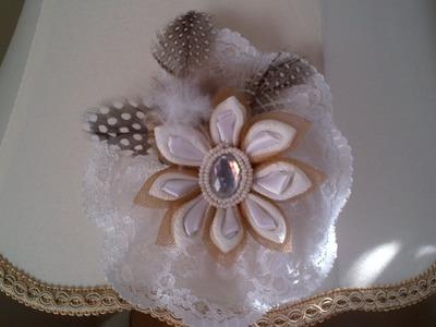 Thriftycrafts:  How to make Kanzashi Japanese flower