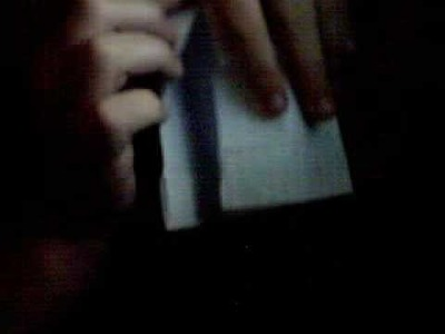 Useful Origami Toothpick holder (POCKET SIZE!) [Challenge *----]