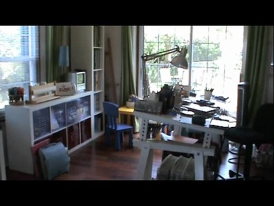 Video #66 New & improved craft room
