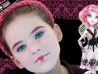 C.A. Cupid Monster High Doll Costume Makeup Tutorial