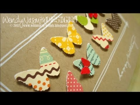 Card Tutorial - Butterfly Birthday