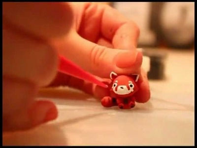 ◕‿◕ Red Panda! Kawaii Friday 34 (Tutorial in Polymer Clay)