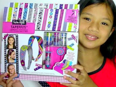 Fashion Angels Tapeffiti Headband Kit - Kids' Toys