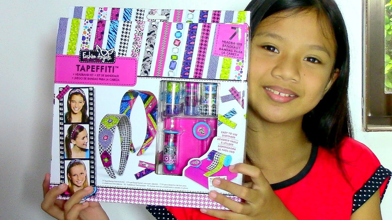 Fashion Angels Tapeffiti Headband Kit - Kids' Toys