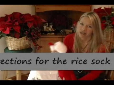 Hot Gifts-  Rice Sock