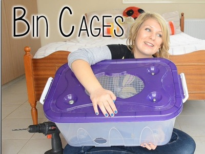 HOW I BUILT MY BIN CAGE!