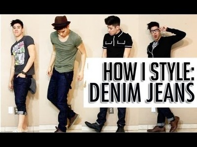 HOW I STYLE: DENIM JEANS ◆ 4 WAYS (FASHION LOOKBOOK) | JAIRWOO