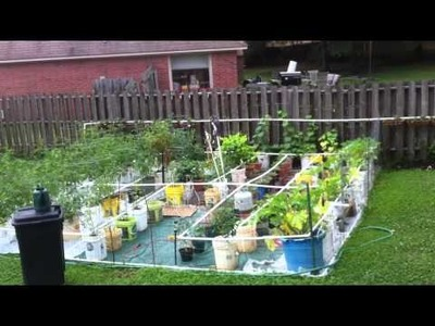 How to Build a Home Made PVC Drip Irrigation System for under $100