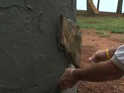 How to Install a Stone Veneer Wall