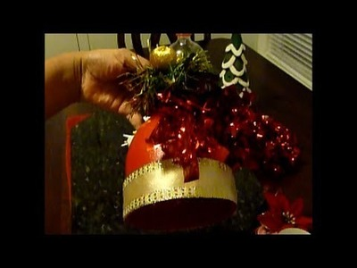 How to make a Christmas Bell Decoration