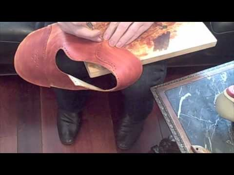 How to Make a Shoe by Hand, Part 4: Closing the Upper