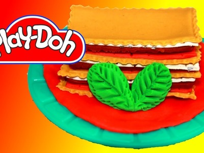 How to make Lasagna Bolognese out of Play Doh