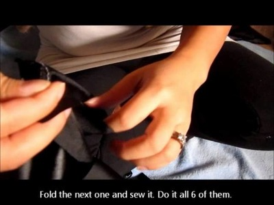How to sew easy Hmong boy hat tutorial