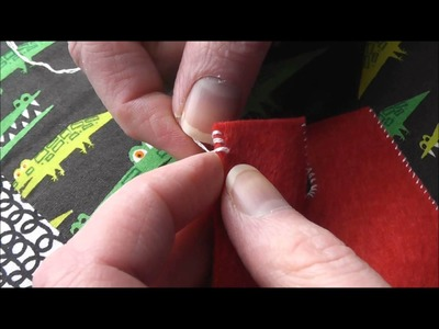 How to Whipstitch Felt
