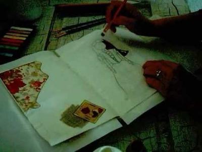 I started Art Journaling