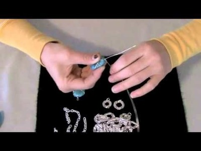 Jewelry Making | How to Wire Wrap a Pendant