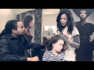 Junior Green Assesses Mixed-Race Children's Hair.mpg