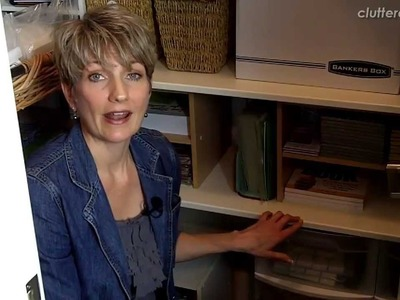 Make It Work! How NOT to Be Perfect & Get Away With It   Clutter Video Tip