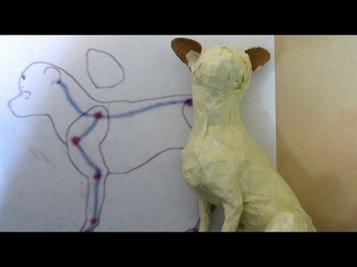 Making a Wire Armature for a Paper Mache Chihuahua