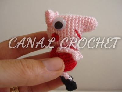 Mini peppa pig amigurumi tutorial