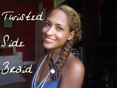 Mixed Nation Tutorial: Twisted Side Braid