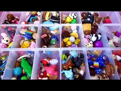 Polymer Clay Charm Collection Part 2 :Charms, Miniatures And Figurines :)