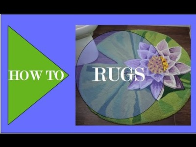 RUGS, How To Make an Area Rug - Interior Design
