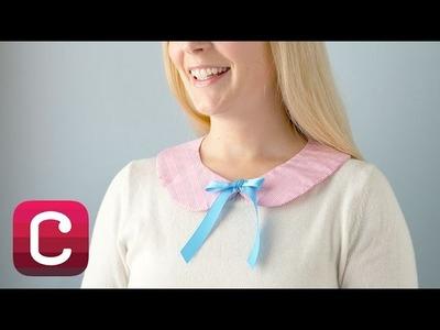 Sew a Peter Pan Collar with Amy Karol I Creativebug