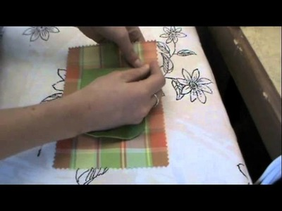 Sewing Technique:  Round Pocket