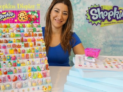 Shopkins How to do a display?