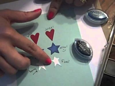 Stars & Stamps - Chalk Tutorial.wmv