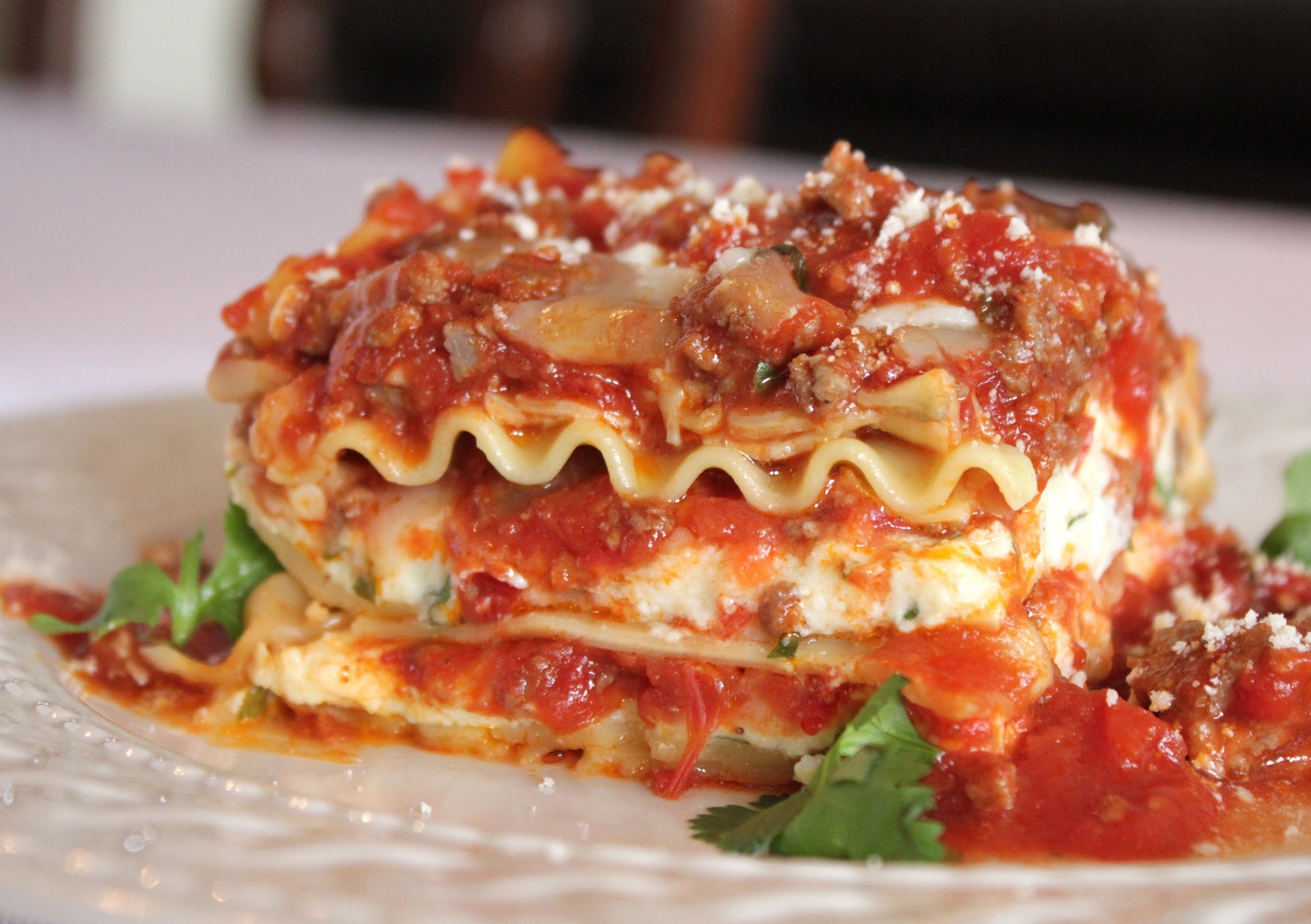 The Best Meat Lasagna Recipe -- How to Make Homemade Italian Lasagna Bolognese