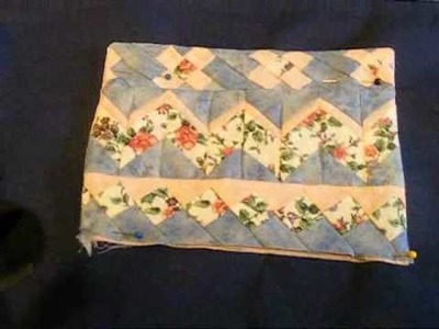 Tote Bag with Seminole Patchwork pockets