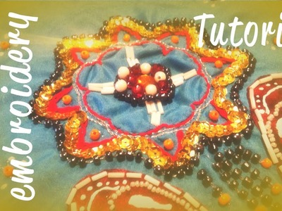 ♥ Zardozi embroidery Tutorial ♥