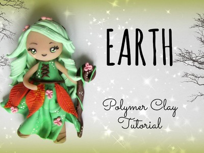 4 Elements - Earth - Polymer clay Tutorial ❀ Doll Chibi