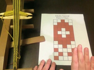 Baltic-Style Pick-Up Inkle Weaving Tutorial