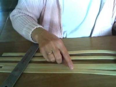 Basket Weaving Video #21 - Mini Muffin Basket Video Weaving a Solid Bottom Base