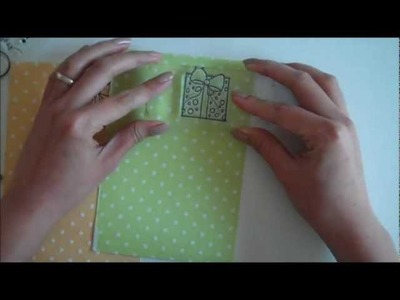 Cardmaking Tutorial : Happy Birthday Card {Precious Remembrance Shop - Clear Stamps}