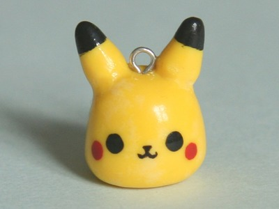 Chibi Pikachu Polymer Clay Tutorial
