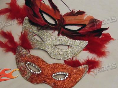 DIY How to make Party Mask JK Arts 119